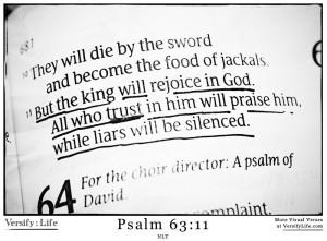 Psalm 63:11