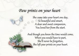 loss of pet condolences