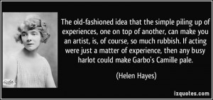 More Helen Hayes Quotes