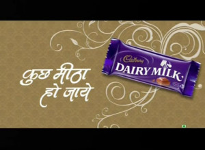Recently, Cadbury Dairymilk has released new TVC campaignwith ...