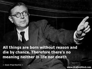 Jean Paul Sartre Quotes Jean-paul sartre quotes