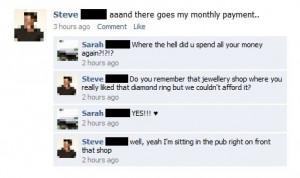 Funny photos funny boyfriend girlfriend Facebook fight