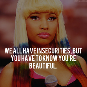 Nicki Minaj Quotes- The Hip Hop Queen Raps Out Her Thoughts