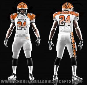Cincinnati Bengals New Uniforms 2014