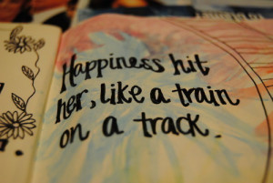 ... florence & the machine, happines, quote, the dog days are over, train