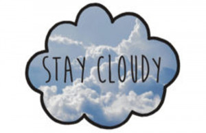manfaa › Portfolio › Jc Caylen's Stay Cloudy Quote
