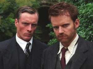 Toby Stephens and Marc Warren as siblings in Agatha Christie's Poirot ...