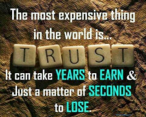 ... Anyone Quotes , How to Trust Again Quotes , Trust Takes Time Quotes