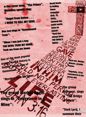 Satanic Quotes Satanic quotes by rockstars