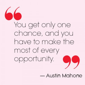 Austin Mahone's quote