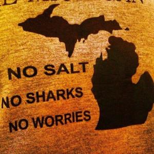 No salt. No sharks. No worries.: No Worry, Michigan Lakes, Puree ...
