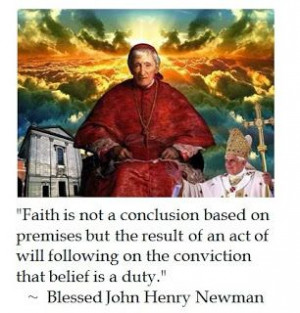 Laus Deo: John Henry Newman on Faith