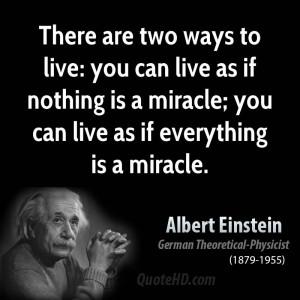 einstein miracle quote2