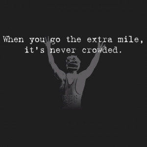 Quotes About Extra Effort Quotes Sports