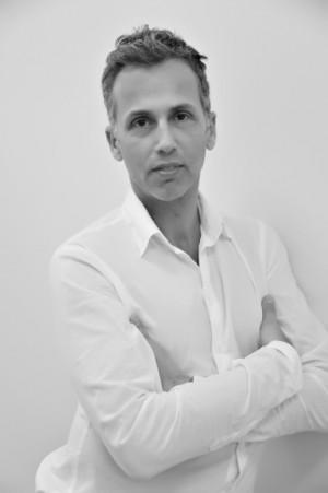 Celebrity hair stylist Mordechai Alvow attends a portrait session on ...