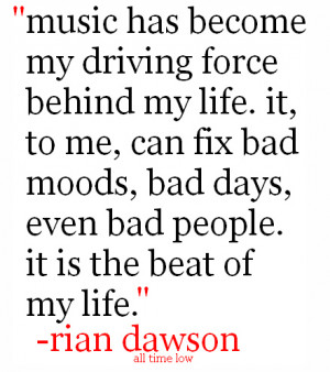 ... Quote #Rian Dawson Quote #All Time Low #All Time Low Quotes #ATL