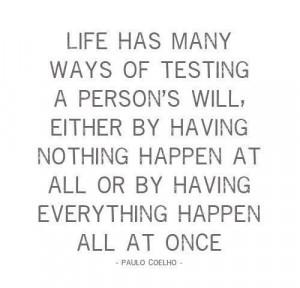 Life Happens...