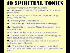 10 Spiritual Tonics Inspirational Life Quotes