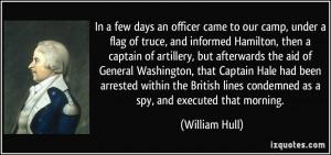 More William Hull Quotes