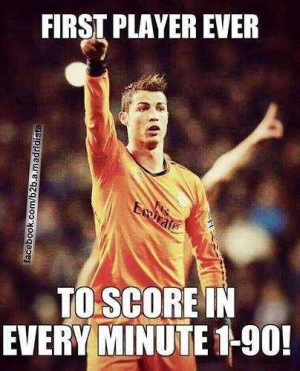 CR7 simply the best