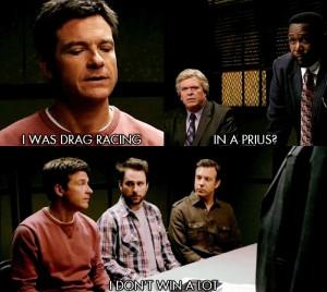 Jason Bateman Likes To Drag Race In a Prius In Horrible Bosses