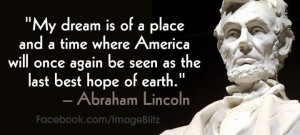 , Abraham Lincoln quote.