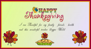 Thankful Quotes For Thanksgiving I am thankful for my family,