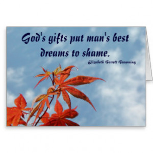 Elizabeth Barrett Browning Quotes Cards & More