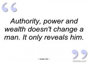 authority imam ali