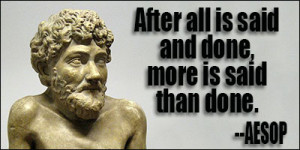 AESOP QUOTES