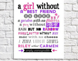 ... Best Friend Graduation Gift. Long Distance Best Friend Quote Gift