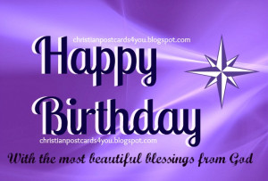 Happy Birthday Quotes for Friends Christian
