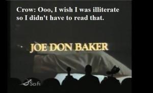 MST3K - Joe Don Baker is Martha Mitchell