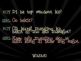 haha buti nga 4 notes reblog tagged as pinoy pinoy love quotes