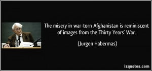 The misery in war-torn Afghanistan is reminiscent of images from the ...