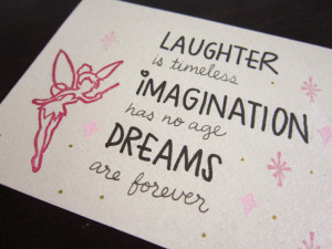 Pixie Dust Tinkerbell Quote