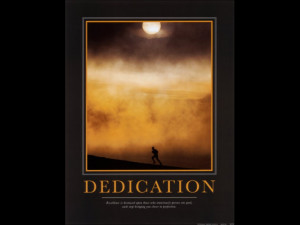 Dedication Quotes