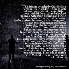 borderline personality disorder quotes - Google Search More