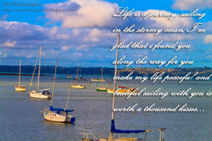 sailing life is a journey sailing in the stormy ocean i m glad that i ...