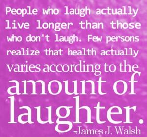 HEALTH QUOTES- LAUGH QUOTES