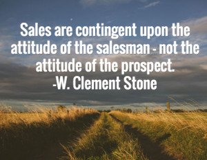 sales quotes w clement stone