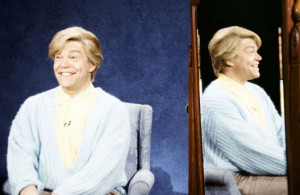 Al Franken as Stuart Smalley during the 'Daily Affirmation' skit on ...