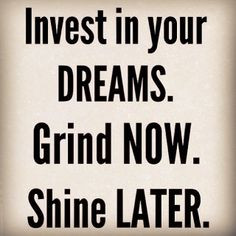 Love this! #quote #saying #hustle #hardwork #grind #inspiration #shine ...