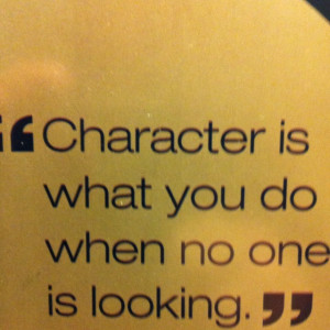 ... part of a stephen covey s leader in me school it has a special meaning