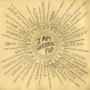 New Year's List: Seven Attitudes of Gratitude
