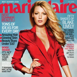... blake lively talks dating and sex in marie claire blake lively is on