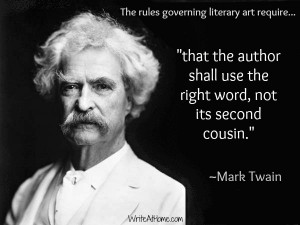 Mark Twain on Writing: Graphic Quotes