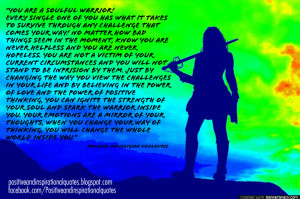 warrior quotes and sayings warrior quotes and sayings native american ...