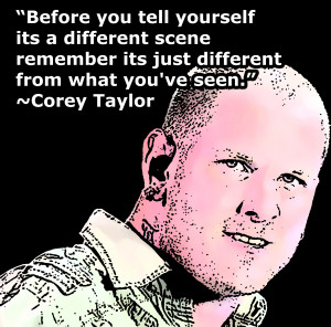 Corey Taylor Hair Colour