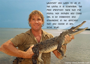 steve irwin # the crocodile hunter # croc hunter # crocodile # water ...